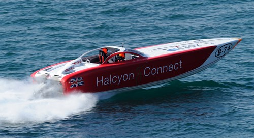 Halcyon Offices' Owners Win the World's Most Prestigious Offshore Powerboat Race