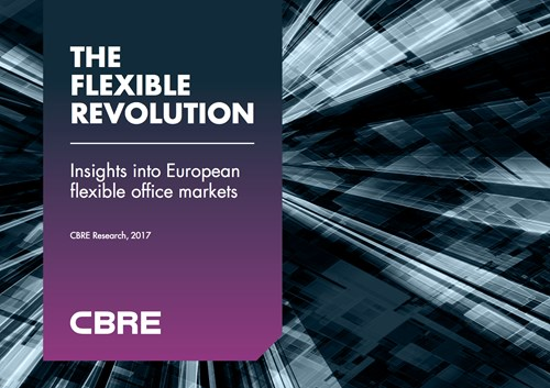 "CBRE Reveals Latest Insights into Flexible Workspace ""Revolution"""