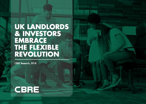 CBRE Research Examines Landlords' Response to Flexible Workspace Demand