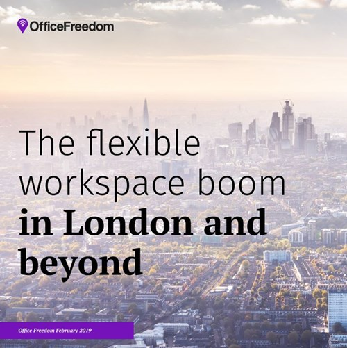 London Leads the Way in the Flexible Workspace Boom
