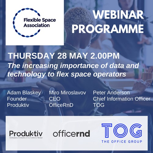 FlexSA Webinar - The increasing importance of data and technology to flex space operators