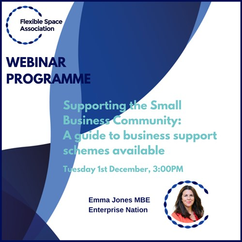 Supporting the Small  Business Community: A guide to business support schemes available