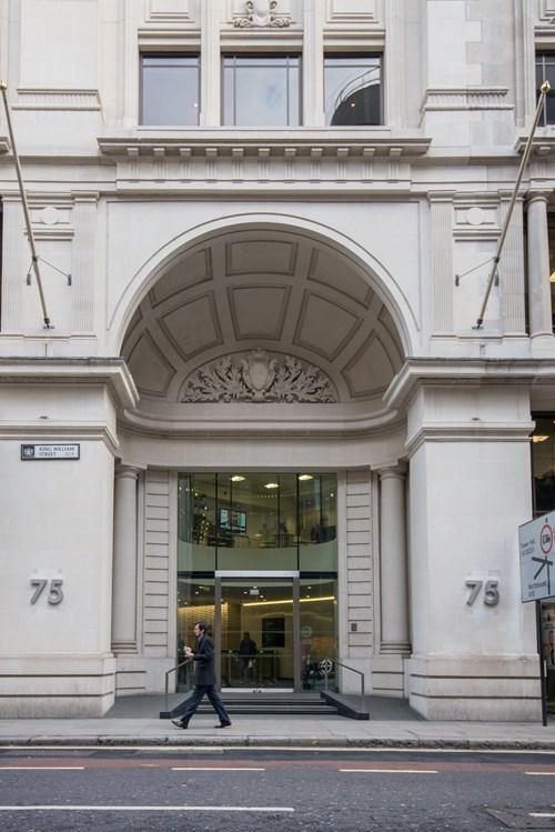 Landmark, London City, King William Street