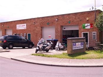 Exterior, Bizspace, Middlefield Industrial Estate, Sandy, Bedfordshire, SG19