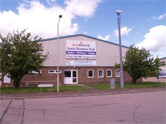 Main Entrance, Bizspace, Middlefield Industrial Estate, Sandy, Bedfordshire, SG19