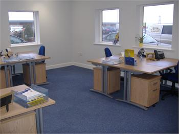 Evans Business Centre Ludlow office, Shropshire, SY8