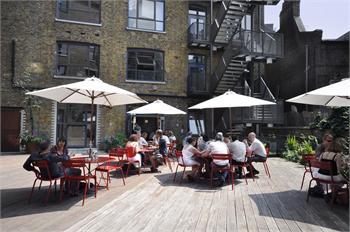 Clerkenwell Workshops - Decking Area, Clerkenwell, London, EC1R
