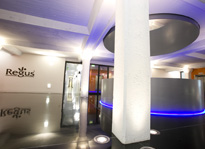 Regus Fort Dunlop reception, Birmingham, West MIdlands