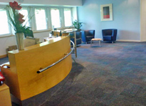 Regus Birmingham (NEC) reception, Birmingham Business Park