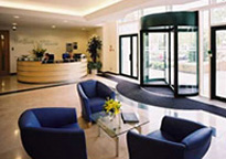 Bracknell Arlington Square reception, Berkshire, Regus