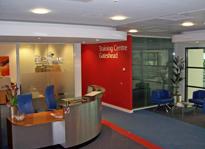 The Axis Building reception, Gateshead, NE11 Regus