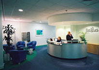 Regus Leeds reception, Thorpe Park Business Park, LS15