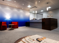 Regus London Bridge reception, London, SE1