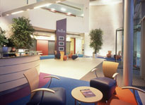 Regus Manchester reception, Lancashire, M22