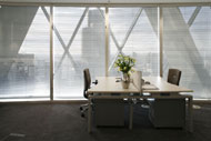 Example office from Regus within the Gherkin, London