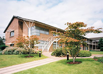 Entrance to The Quorum, Regus Business Centre, Oxford Business Park, Oxford, OX4
