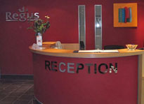 Regus Swansea reception, Glamorgan, SA1