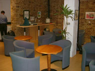 Coppergate House break out area, London, E1, Lenta Business Centres