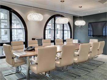 Landmark Plc, Lombard Street meeting room, London, EC3V