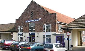 Main Entrance, Bizspace, The Knoll Business Centre, Hove, Sussex, BN3