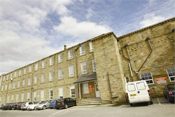 Main Entrance, Bizspace, Lomeshaye Business Village, Nelson, Lancashire, BB9