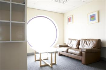 Breakout area at Bizspace in Barnsley S71 1HT