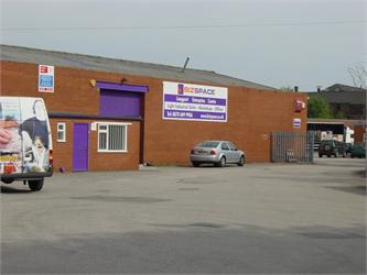 Main Entrance, Bizspace, Longport Enterprise Centre, Stoke, Staffordshire, ST6