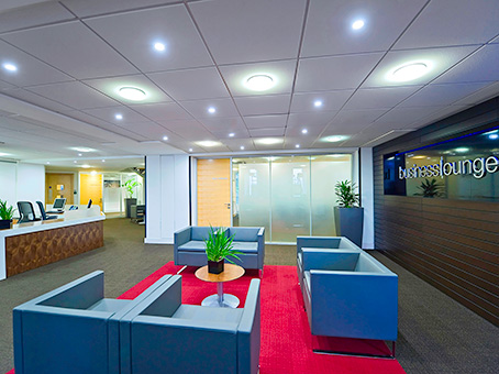 Regus Victoria Square reception, Birmingham