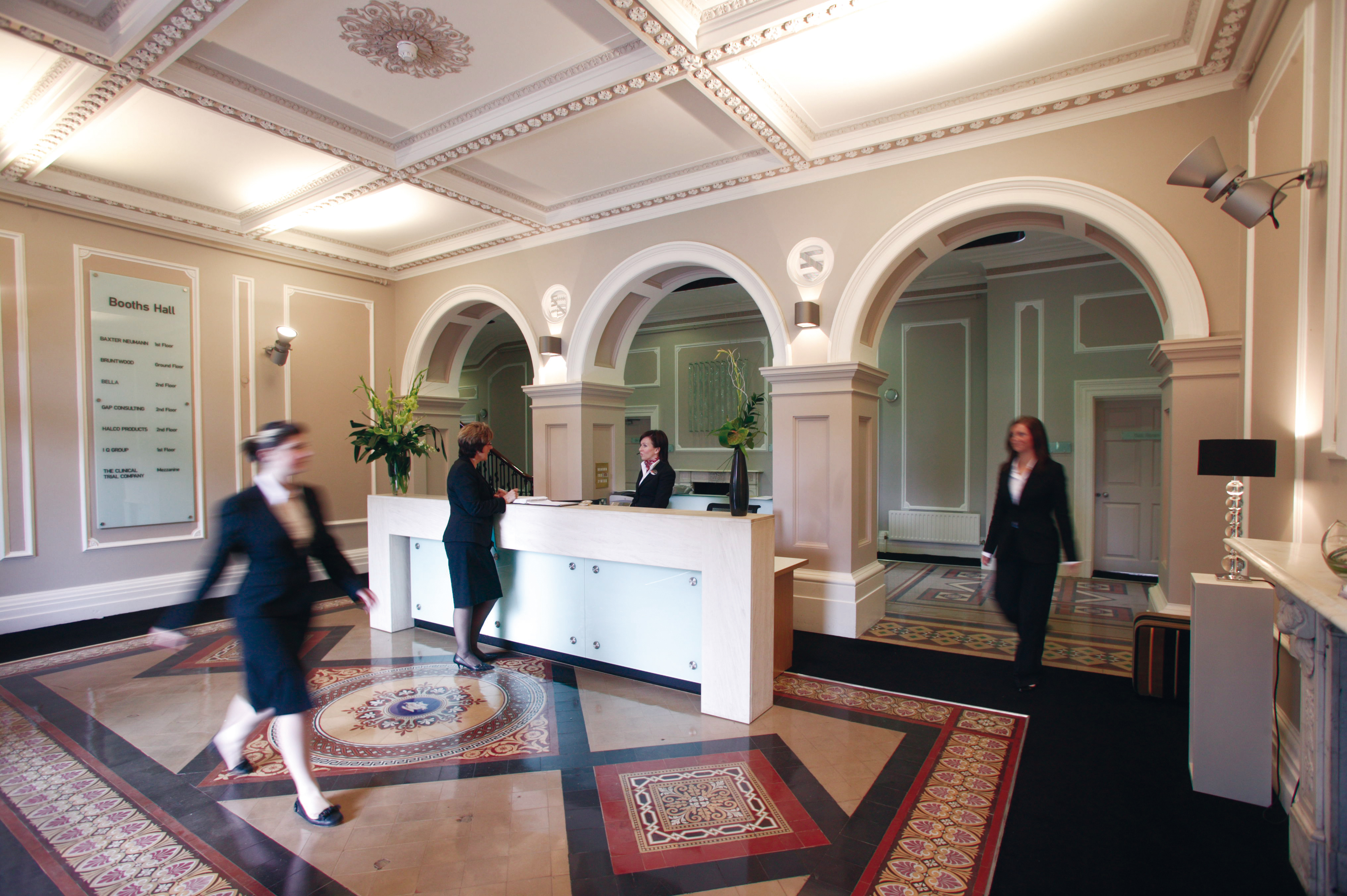 Booths Hall Reception