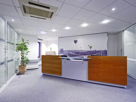 Broad Quay House reception, Bristol, Regus