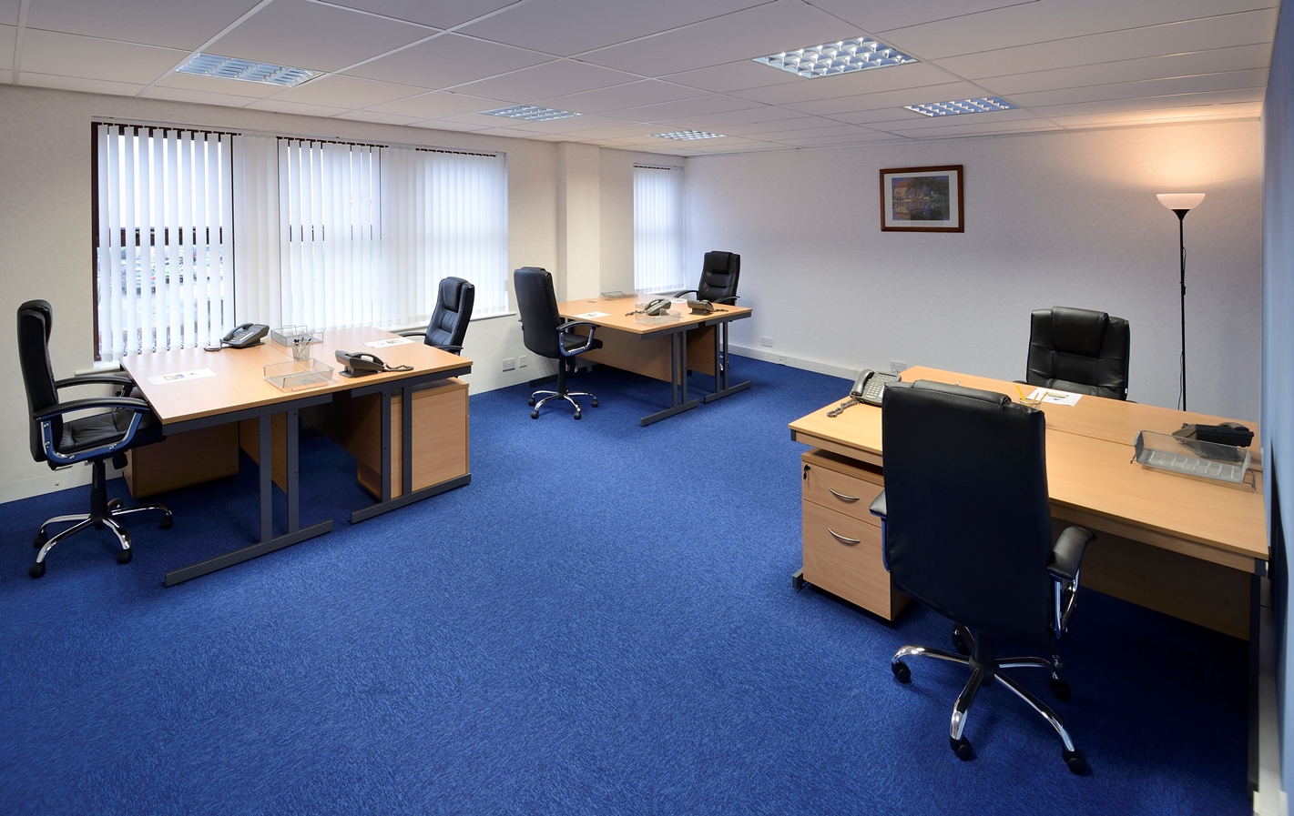 A serviced office at Portal Business Centres