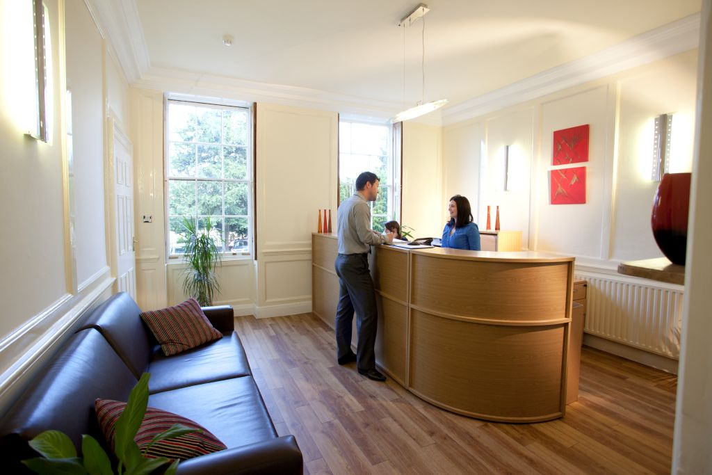 Glenfield Business Centre reception