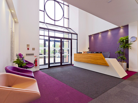 Aston Court, High Wycombe reception, Buckinghamshire, HP11, Regus