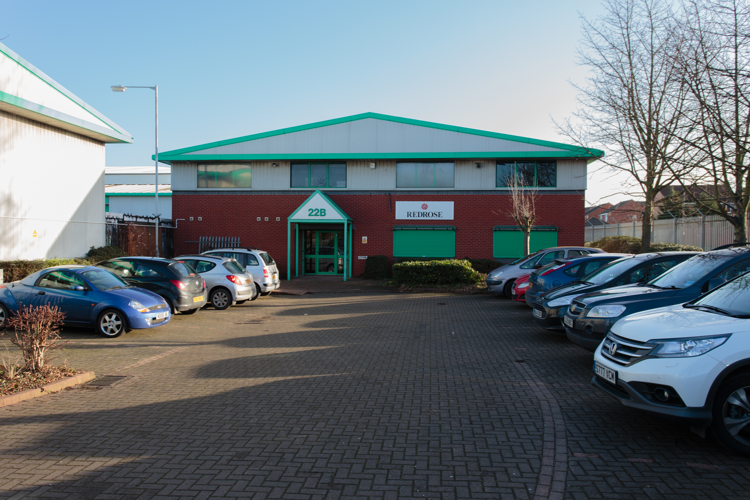 Main Entrance, Bizspace, Dubmire Industrial Estate, Hougton-Le-Spring, Northumberland, DH4