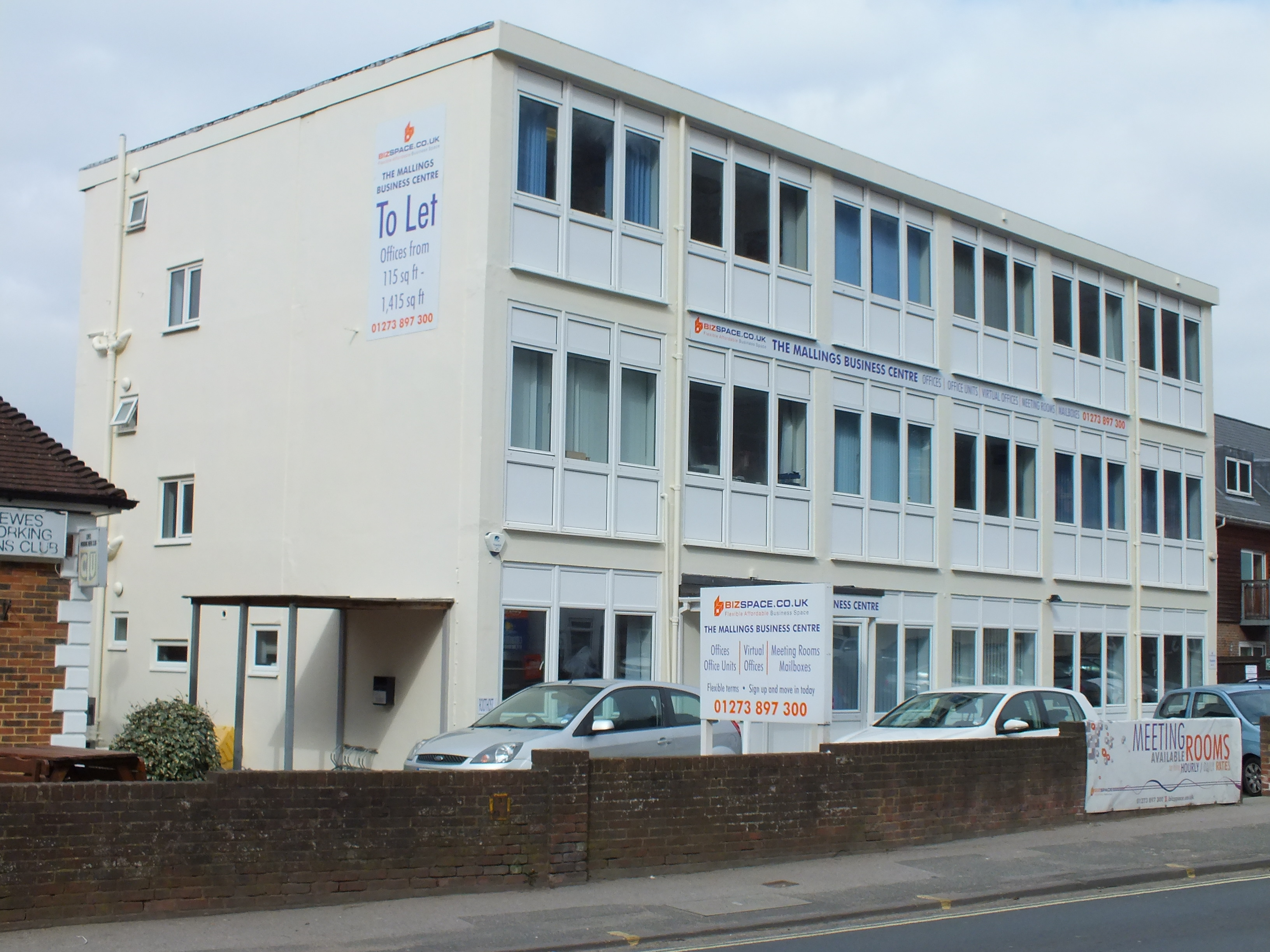 Main Entrance, Bizspace, The Mallings, Lewes, East Sussex, BN7