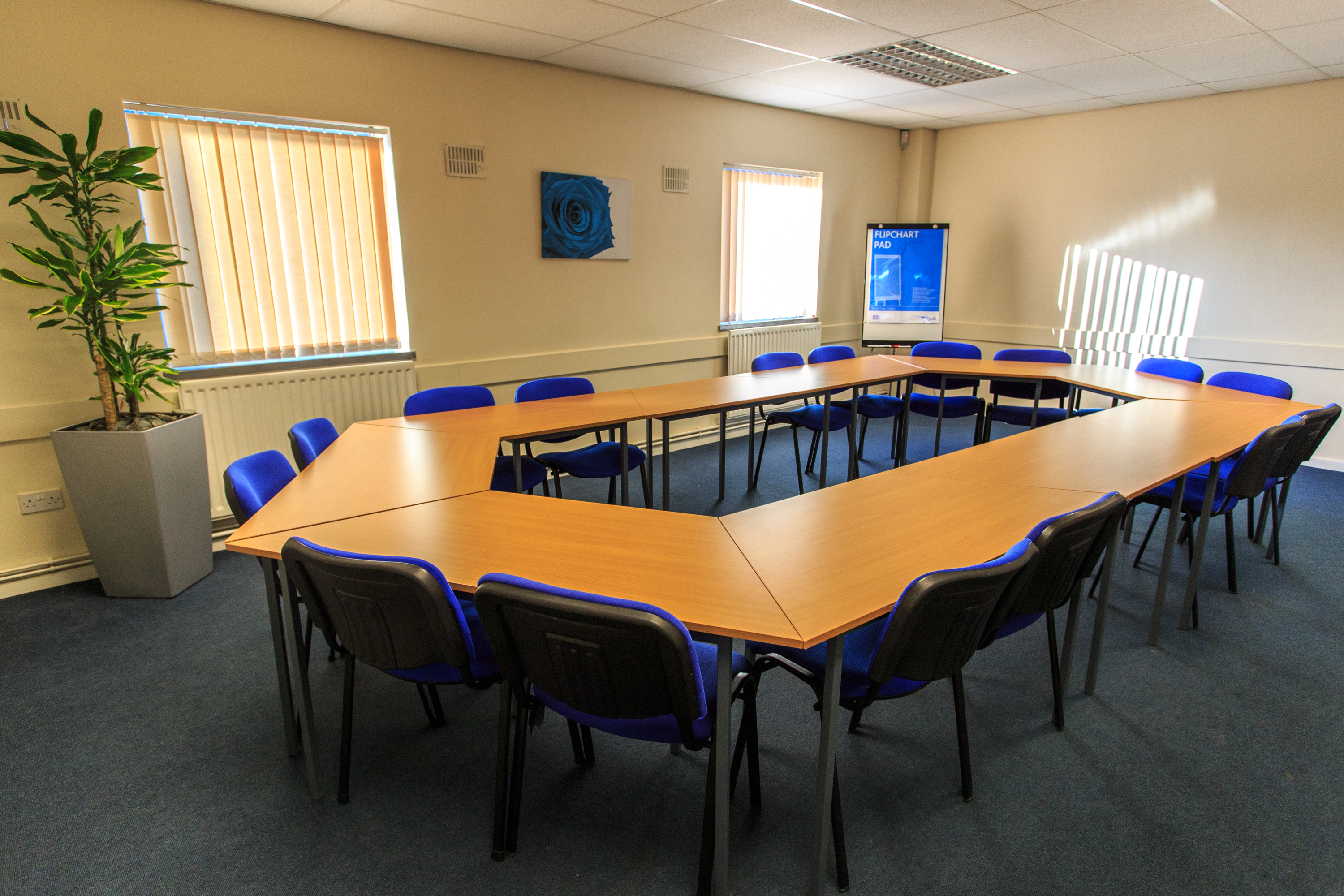 Meeting Room, Bizspace, Queensway Business Centre, Middlesbrough, TS3