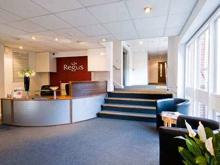 Regus Newbury Reception