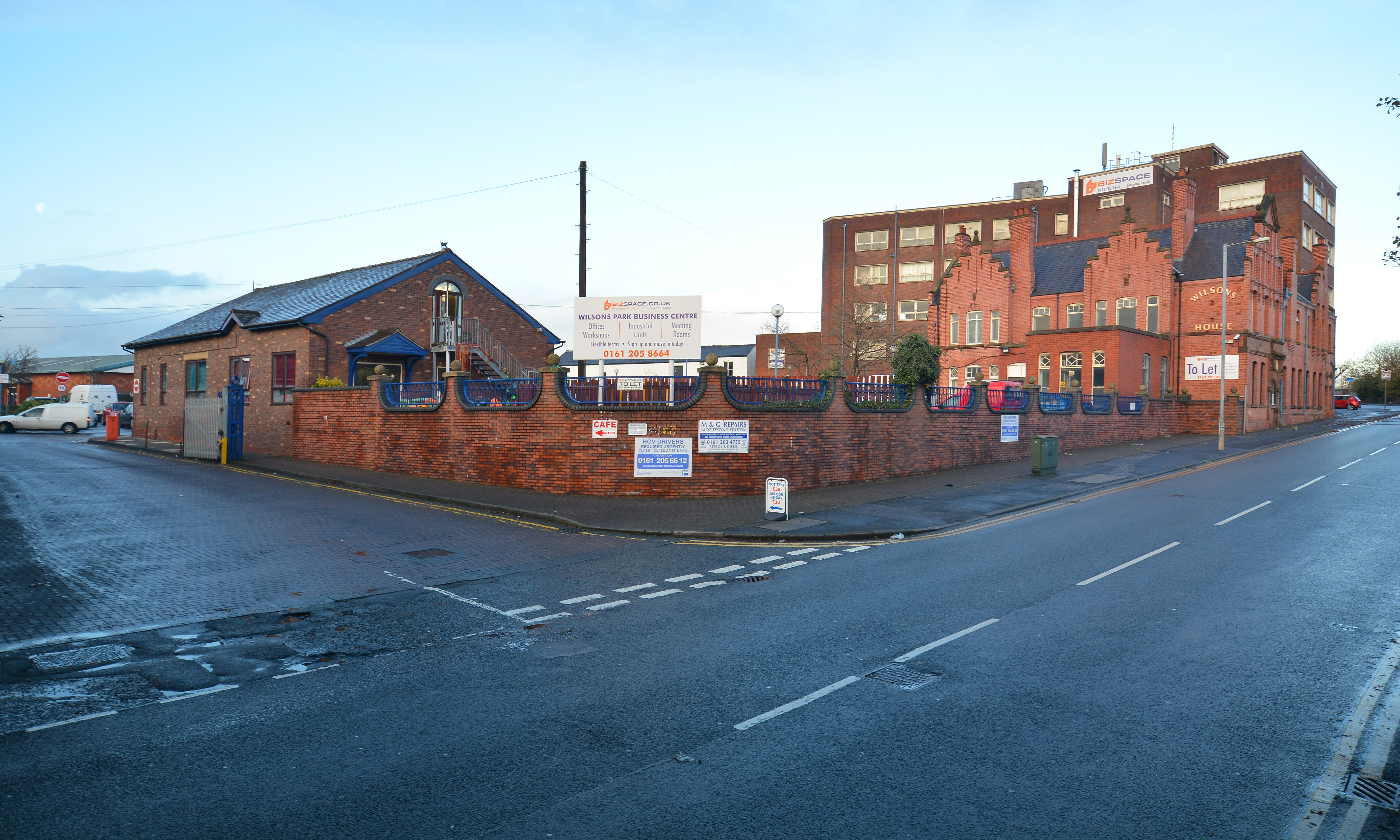Main Entrance, Bizspace, Wilsons Park, Newton Heath, Cheshire, M40