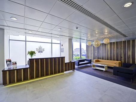 Maple House reception, Potters Bar, EN6, Regus
