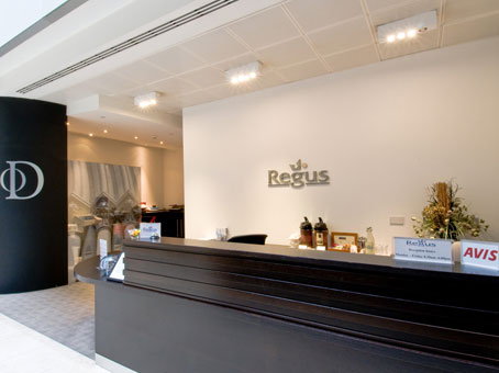 Davidson House lobby, Reading, RG1, Regus