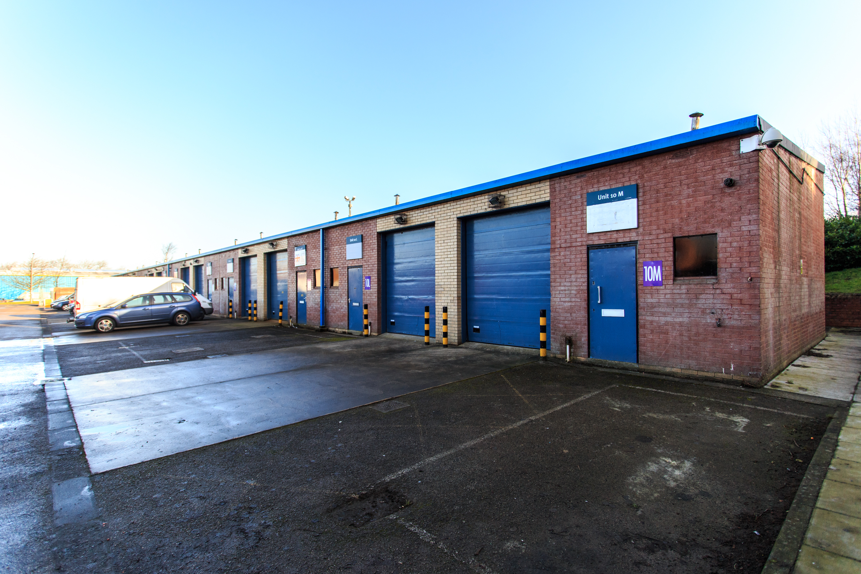 Industrial Units, Bizspace, Dabble Duck Industrial Estate, Shildon, Durham, DL4