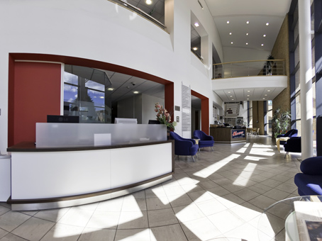 Regus Sunderland reception, Tyne and Wear, SR3