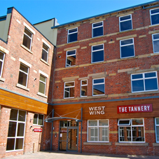 The Tannery Main Entrance