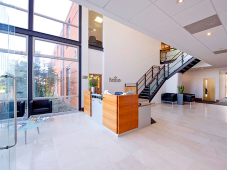 Regus West Malling reception, Kent, ME19