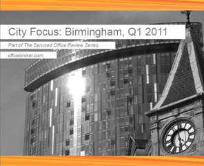 Birmingham needs more office space according to new officebroker.com review