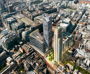 £350m residential & office development planned for Square Mile