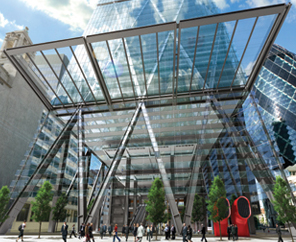 Aon Signs Pre-let for 191,000 sq ft of The Leadenhall Building